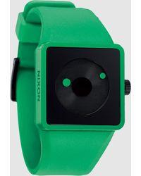 Nixon Green Wrist Watch - Lyst