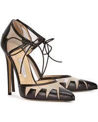 Bionda Castana - Lana Black Pointed Leather Court Shoes - Lyst