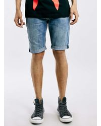 Levi's Blue 511 Cut Off Shorts* blue - Lyst