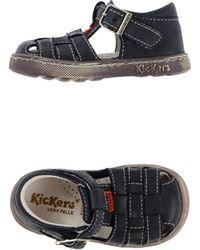 Kickers Sandals - Blue
