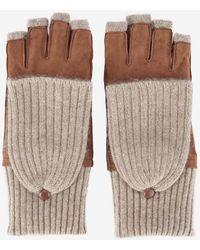 Carolina Amato - Pop Top Fingerless Gloves - Lyst