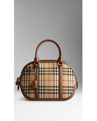 Burberry The Small Orchard In Sartorial Horseferry Check - Lyst