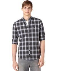 Calvin Klein Jeans Modern Fit Plaid Woven Sport Shirt - Lyst