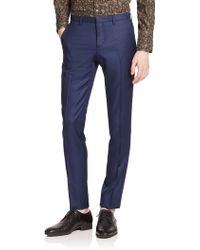 J.Lindeberg Wool Dress Pants - Lyst