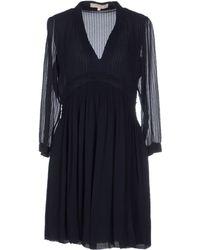 Vanessa Bruno Short Dress - Lyst