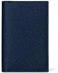 hermes MC2 Edison sapphire blue wallets