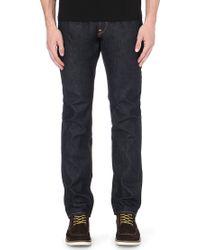 Evisu Regularfit Midrise Jeans Indigo - Lyst