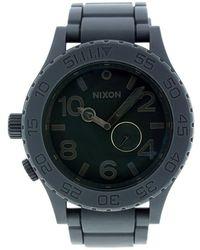Nixon Mens 5130 Series Grey Dial Grey Polyurethane - Lyst