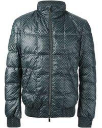 Fendi Printed Padded Jacket - Lyst