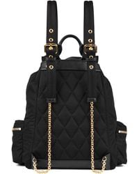 Burberry Prorsum | Rucksack In Technical Black Nylon And Leather | Lyst