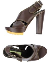 Materia Prima By Goffredo Fantini - Platform Sandals - Lyst