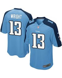 Nike Mens Kendall Wright Tennessee Titans Game Jersey - Lyst