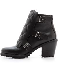 Marc By Marc Jacobs Easy Rider Ankle Boots Black - Lyst
