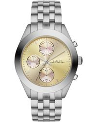 Marc By Marc Jacobs Peeker Stainless Steel Chronograph Bracelet Watch/Mandarin - Lyst