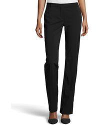 Halston Heritage Straight Leg Tailored Pants - Lyst