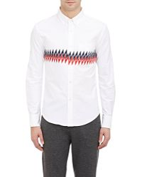 Band of Outsiders Zig-Zag Oxford Shirt - Lyst