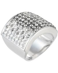 Jan Leslie - Square Crystal Ombre Bling Ring - Lyst