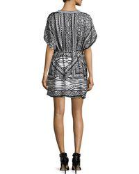 Townsen - Hoffman -print Chiffon Dress - Lyst