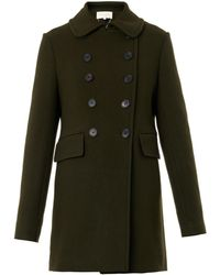 Vanessa Bruno Boston Doublebreasted Wool Coat - Lyst