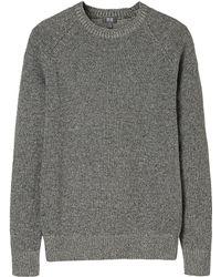 Uniqlo Men Heattech Crew Neck Sweater - Lyst