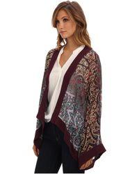 Nicole Miller Bramble Paisley Kimono - Lyst