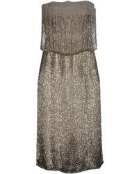 Yves Saint Laurent Rive Gauche Short Dress - Lyst