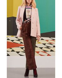 Olympia Le-Tan - Cecil Blended Trousers - Lyst