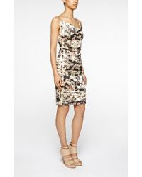 Nicole Miller Carly Rose Techno Metal Dress multicolor - Lyst