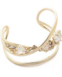 Alexis Bittar Orbit Cuff Bracelet - Gold - Lyst