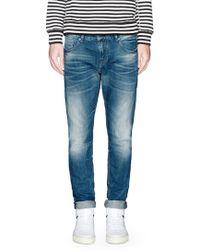 Scotch & Soda 'Tye Drifter' Slim Feat Jeans blue - Lyst