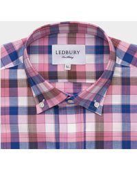 Ledbury The Clairmont Check - Lyst