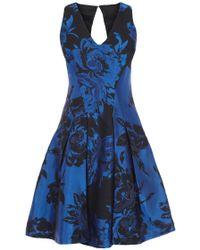 Coast Moya Jacquard Dress - Lyst