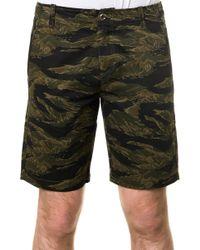 Reason The Tiger Camo Utility Shorts - Lyst