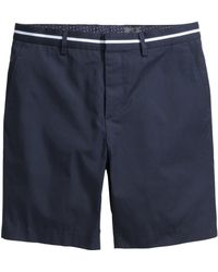 H&M Cotton Shorts - Lyst