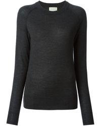 Forte Forte Raglan Sleeve Crew Neck Sweater - Lyst