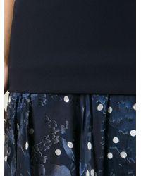 Preen Printed Floaty Skirt Dress - Lyst
