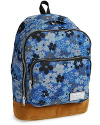 Marc By Marc Jacobs 'Ultimate' Floral Print Chambray Backpack - Lyst