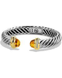David Yurman - Waverly Bracelet with Citrine and Gold - Lyst