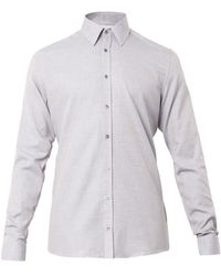 Gucci Cotton and Cashmereblend Shirt - Lyst