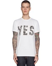 Marc By Marc Jacobs Yes No Tee - Lyst