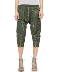 NLST Flight Pants - Olive Drab - Lyst