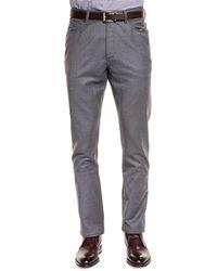 Ermenegildo Zegna Five-pocket Stretch Pants - Lyst