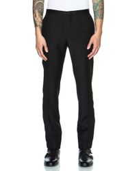 Calvin Klein Mens Crosby Tuxedo Wool Pant - Lyst