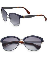 Fendi Aviator Sunglasses - Lyst