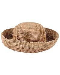 Onigo - Wide Brim Straw Hat - Lyst