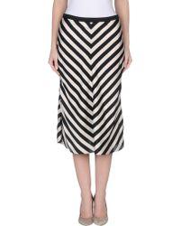 Jucca 3/4 Length Skirt - Lyst