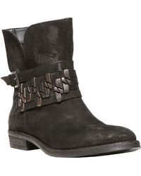 Steven By Steve Madden Traker Leather Embellished Boots - Lyst