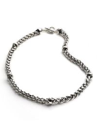 Lauren by Ralph Lauren Braided Chain Necklace - Lyst