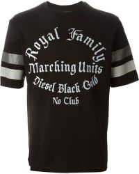 Diesel Black Gold 'Royal Family' T-Shirt - Lyst