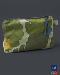 Gap - + Gq The Hill-side Camo Zip Pouch - Lyst